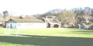 View of Caversham Primary School's Playing Field